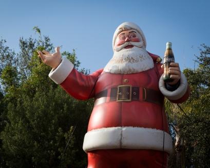 Santa Claus in Busch Gardens